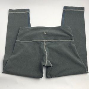Lululemon Wunder Crop washed gary Size 2